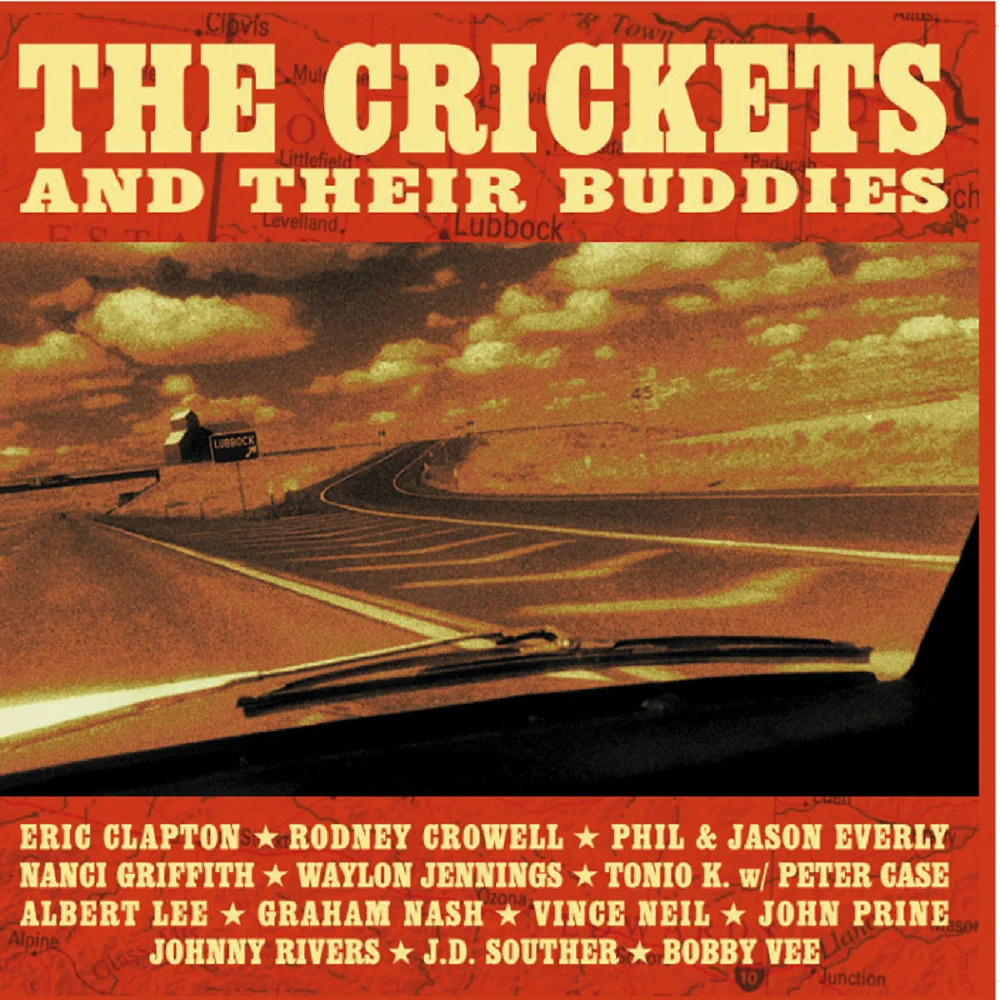 cover art for The Crickets and Their Buddies