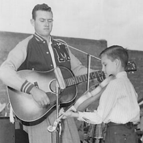 young sonny playing fiddle
